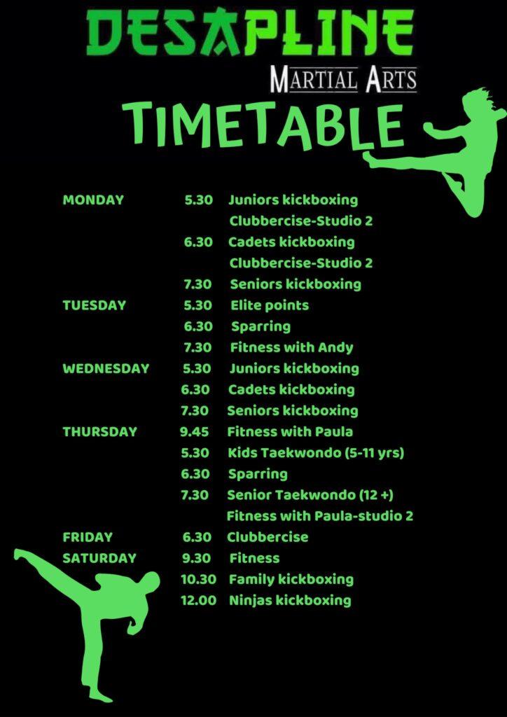 Timetable 724x1024
